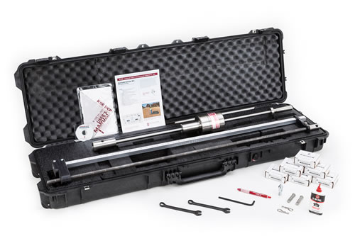 k 100ad airfield deluxe dynamic cone penetrometer dcp kit