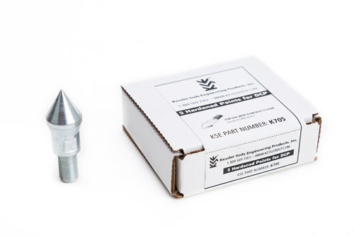 K-100 Hardened Points (silver), 5 Pack