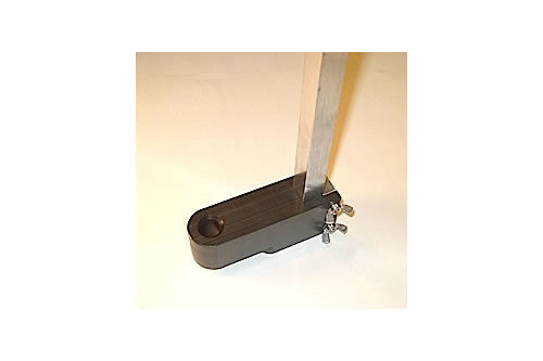 Vertical Scale Lower Attachment (Foot) for Dynamic Cone Penetrometer (DCP)