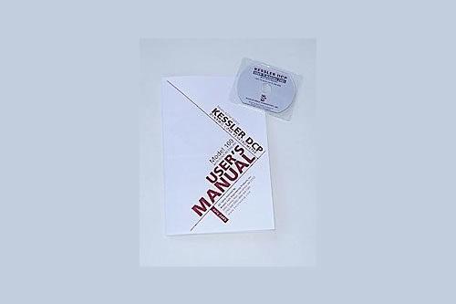 K-100 User's Manual & CD for DCP Kits