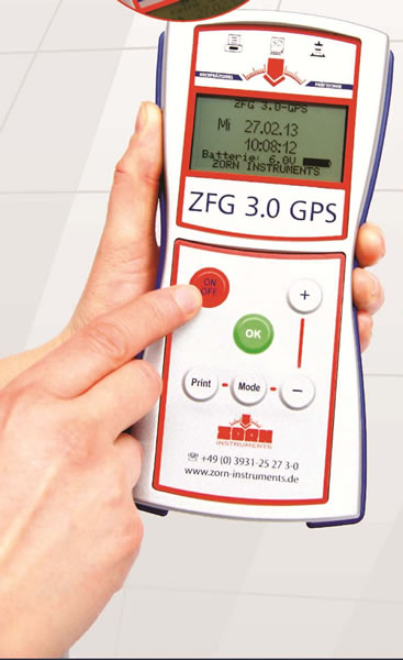 Zorn ZFG 3.0 Light Weight Deflectometer for Soils Testing (with GPS)