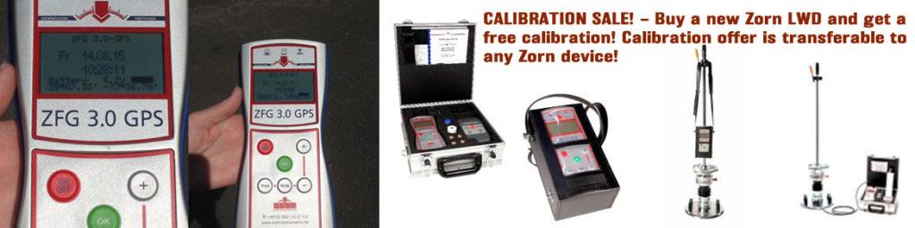 CALIBRATION SALE
